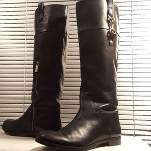 Coach Vintage Tall Leather Knee High Boots